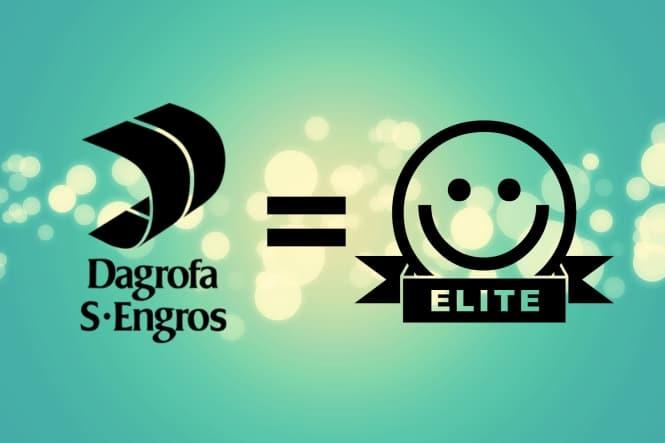 ELITE smiley hos alle Dagrofa S-Engros butikker