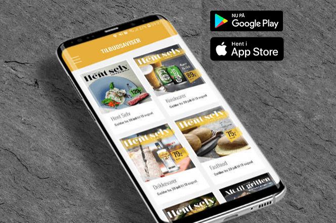 Vi har fået en ny app