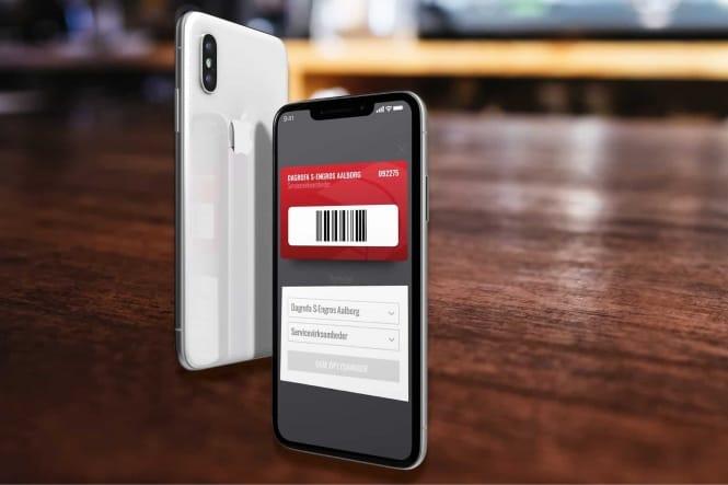 Skift plastikkortet ud med et digitalt kundekort